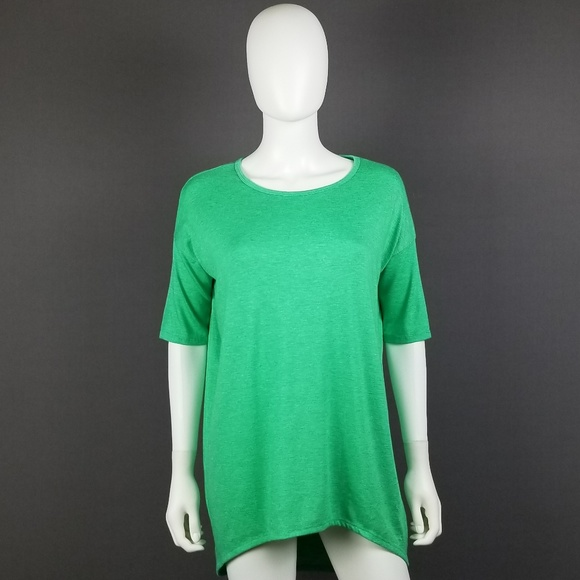 ad1cbb15204cd LuLaRoe Tops - LuLaRoe XXS Green Irma Top
